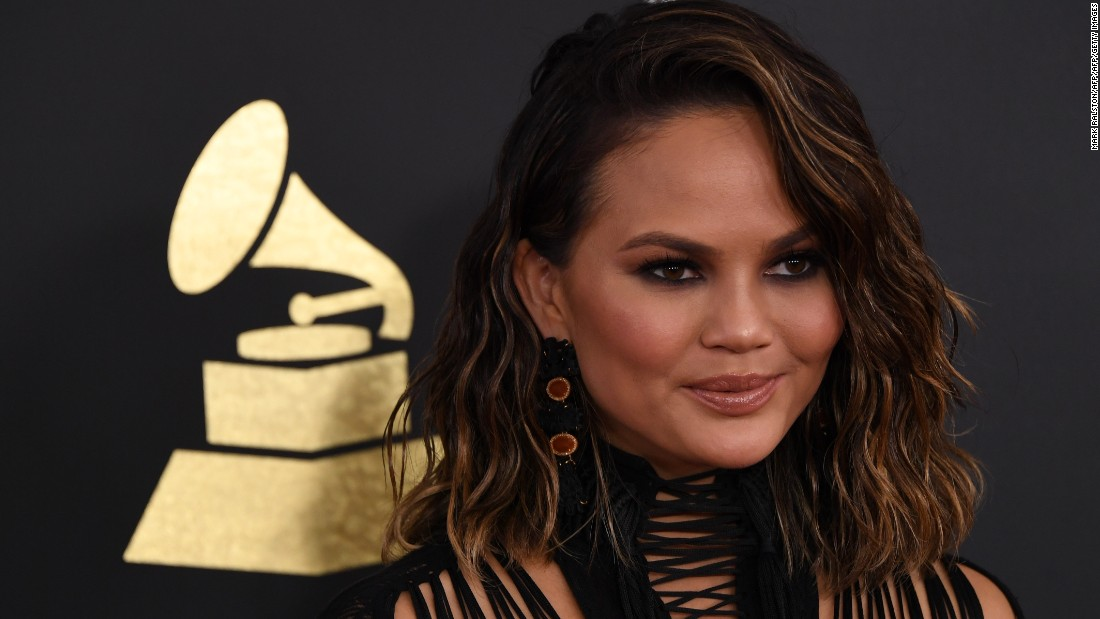 "Chrissy Teigen<a href=""http://www.cosmopolitan.com/health-fitness/a12041473/chrissy-teigen-alcohol/"" target=""_blank""> told Cosmopolitan in a story published in August</a> that she was, ""point blank, just drinking too much."" The model, who is married to singer John Legend, also revealed that there is a history of alcohol abuse in her family."