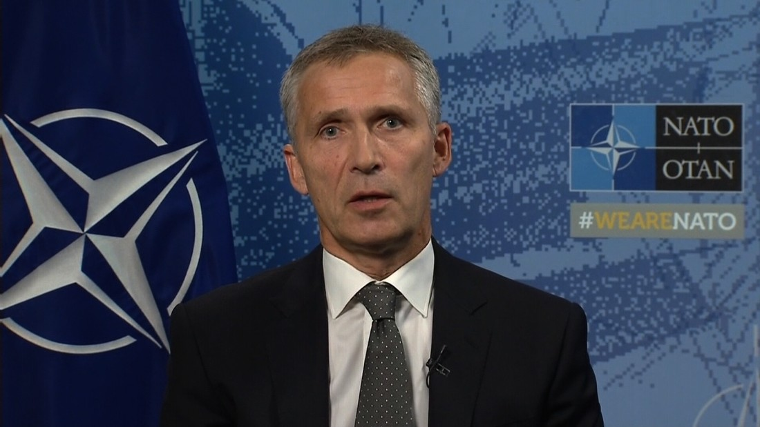 NATO chief: We cannot allow Afghan safe haven - CNN Video