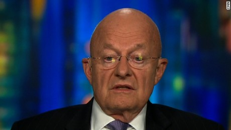 James Clapper calls Trump speech 'downright scary and disturbing'