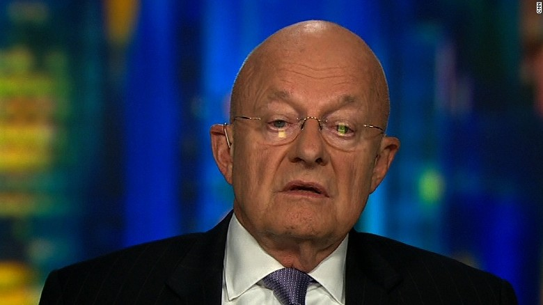 James Clapper questions Donald Trump's 'fitness' to be president