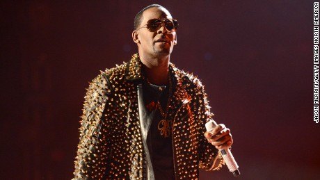 Singer R. Kelly performs onstage during the 2013 BET Awards at Nokia Theatre L.A. Live on June 30, 2013 in Los Angeles, California.  (Photo by Jason Merritt/Getty Images for BET)