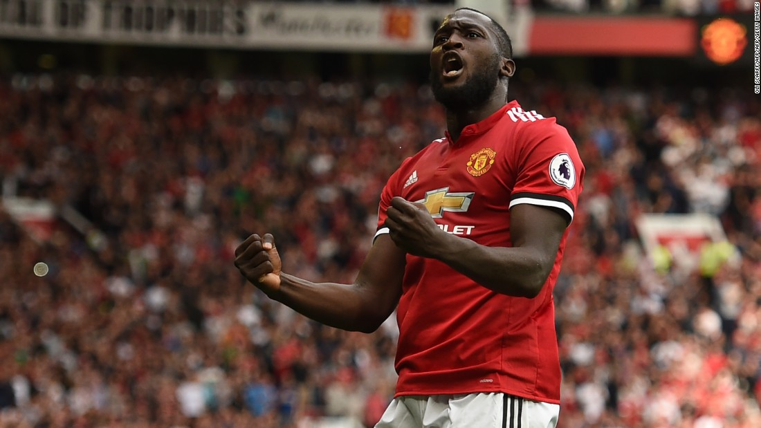 Romelu Lukaku has scored three goals in three league games since joining Manchester United.