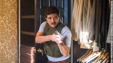 Pedro Pascal in 'Narcos'