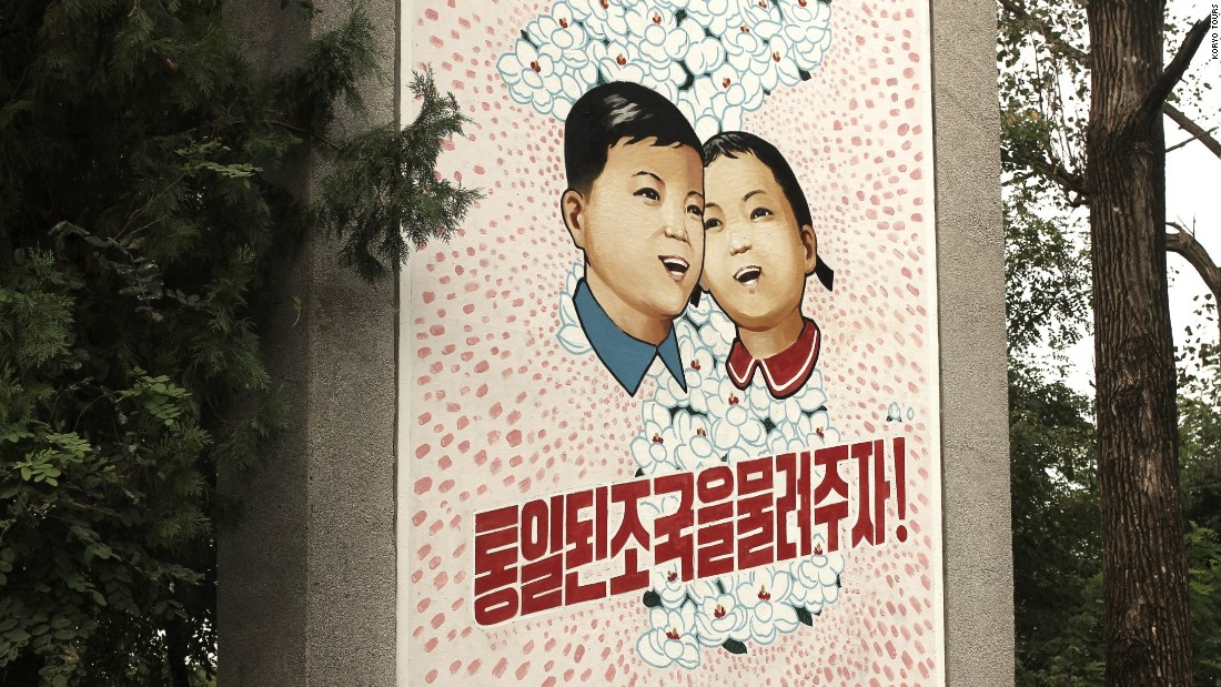 "<strong>DMZ:</strong> Travelers will see propaganda posters all over North Korea. It is considered a serious crime to dismantle or tamper with posters -- punishments could result in detainment or incarceration, evident in the case of American<a href=""http://edition.cnn.com/2017/06/16/us/otto-warmbier-profile/index.html""> Otto Warmbier</a>. The American was held for 17 months in North Korea. He was later transferred back to the US in a coma, where he passed away.<br /><a href=""http://www.cnn.com/travel/destinations/north-korea""><br />See more about North Korean tourism here.</a>"