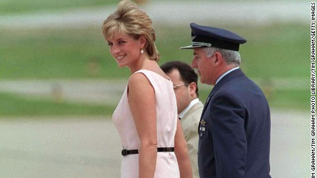 Diana's surprising fashion moments