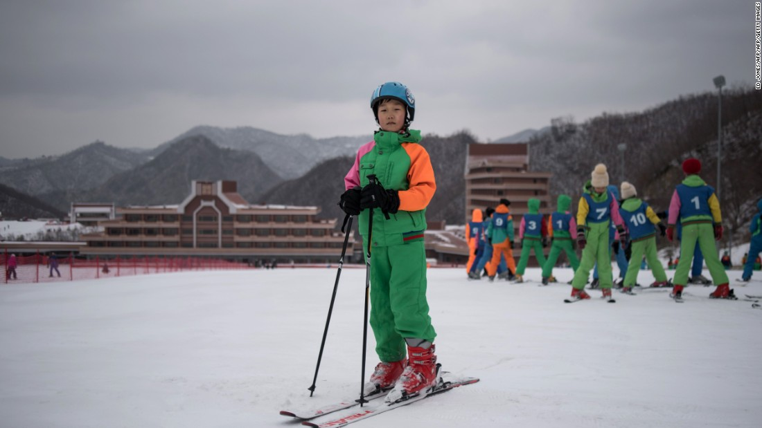 <strong>Hit the slopes: </strong>North Korea opened the Masikryong Ski Resort, near southeastern Wonsan in 2013.