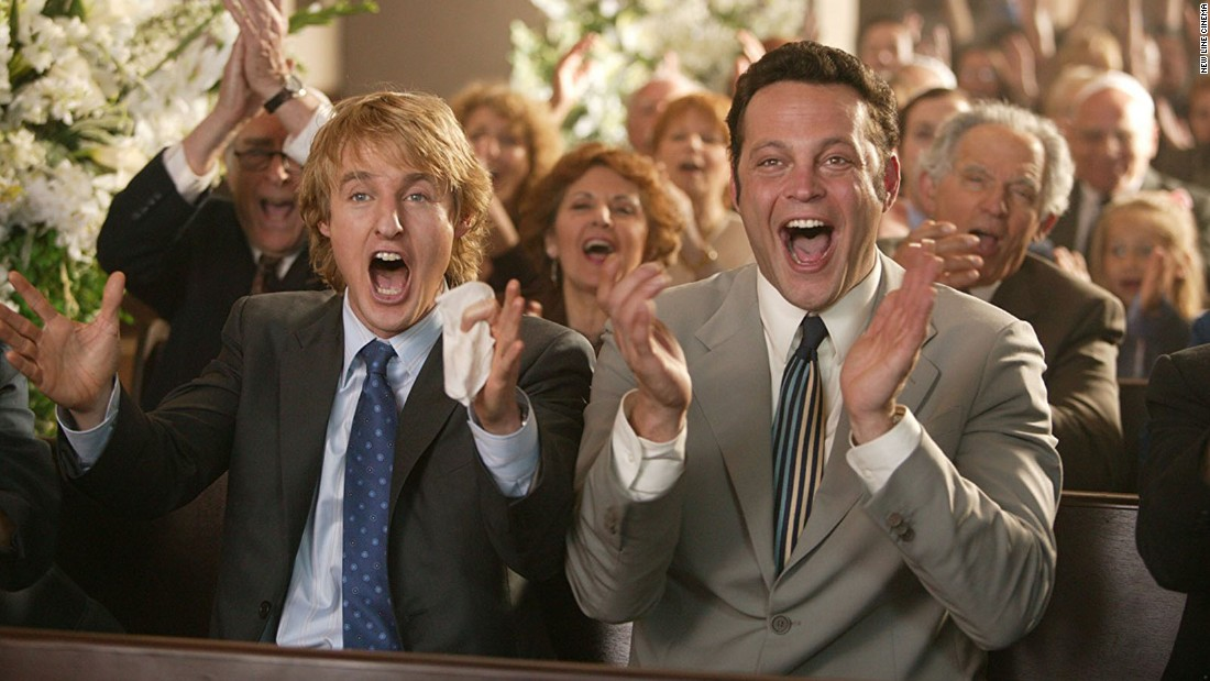"<strong>""Wedding Crashers"": </strong>Owen Wilson and Vince Vaughn star in this 2005 romantic comedy about a pair of friends who crash weddings to meet women.<strong> (Amazon Prime) </strong>"