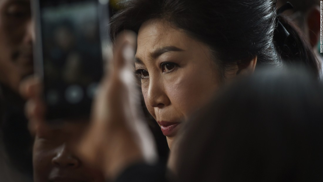 Former Thai PM Yingluck Sentenced To Five Years Over Rice Scheme