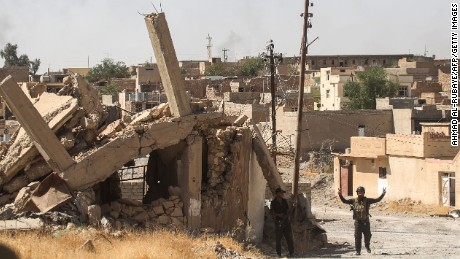 Iraqi military retakes central Tal Afar from ISIS