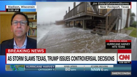Was Trump's storm news dump on purpose? _00000418