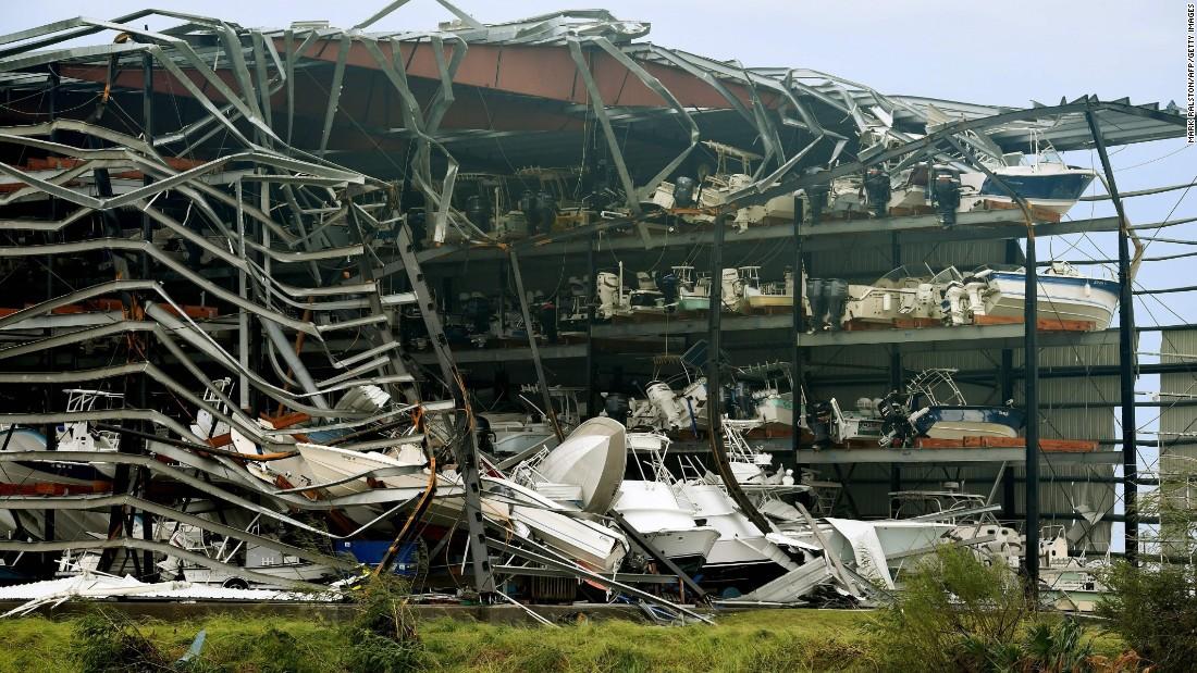 Hurricane Harvey  Damage To Buildings