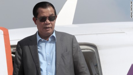 Prime Minister Hun Sen has been in power for more than three decades.