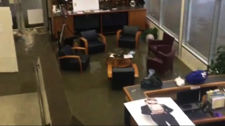 Flood Forces Texas TV Station To Evacuate