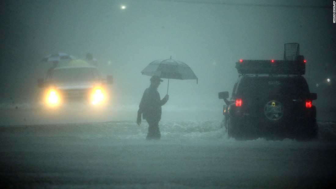 Why didn't Houston evacuate?
