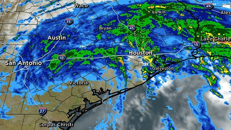 Hurricane Harvey downgraded to Category One storm