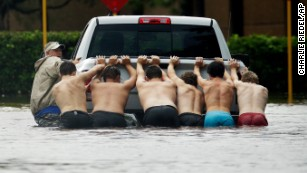 Civilians and strangers become heroes for Harvey victims