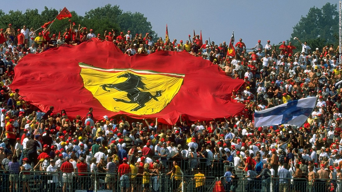 "Every September, the Tifosi flock to Monza to cheer on Ferrari. ""Monza is always considered to be Ferrari's home race,"" says F1 journalist Maurice Hamilton. ""If you were to have such a thing as a national F1 team, Ferrari would be it because it's the only team in F1 that's got the whole country's backing."""