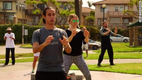 "Millennials are taking up tai chi to reduce stress and become more ""grounded."""