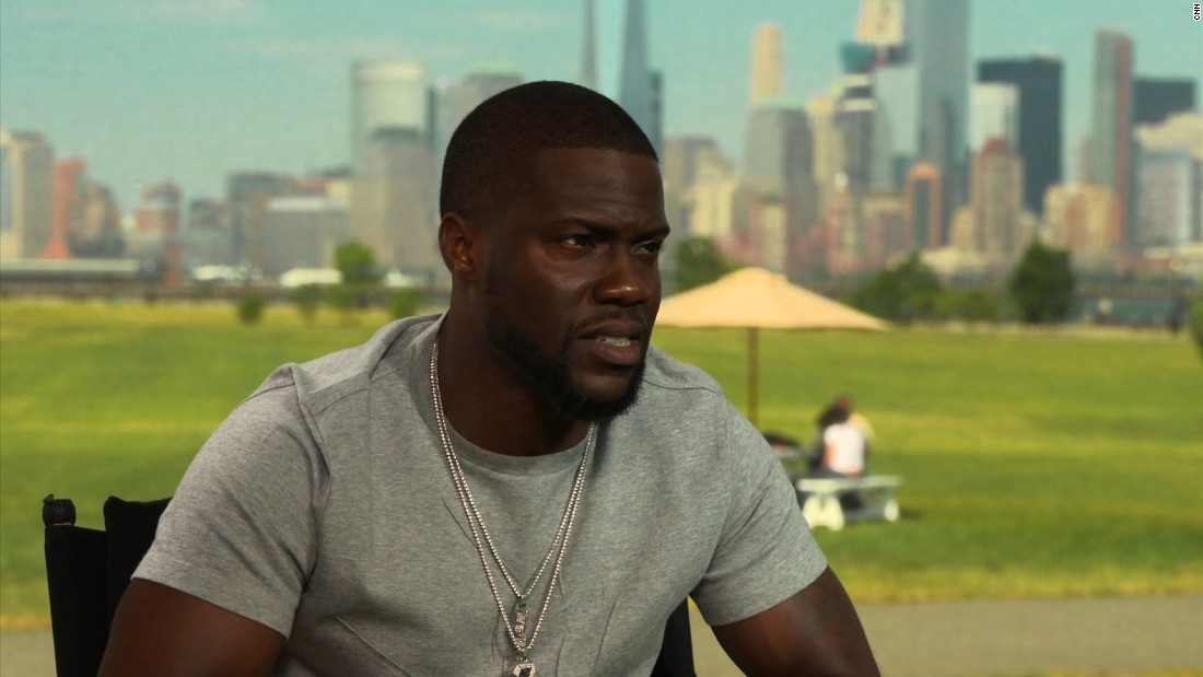 Kevin Hart gives a challenge to celebs