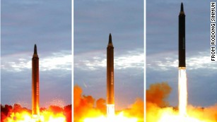 Next target Guam, North Korea says