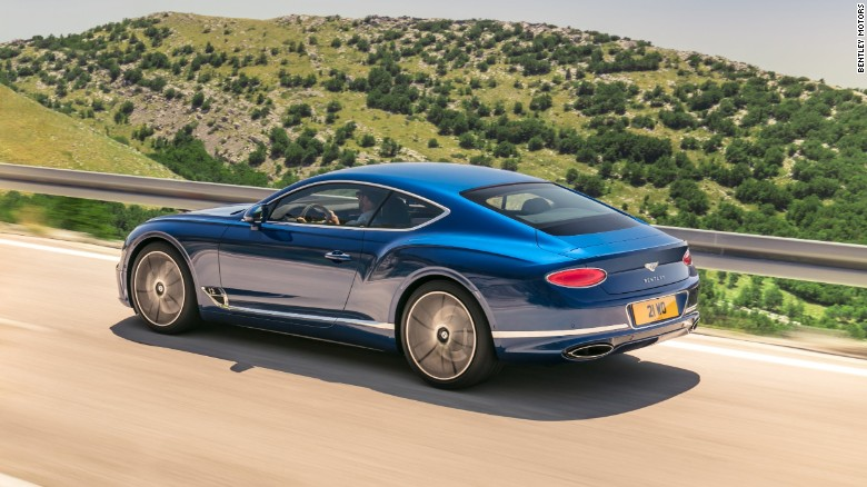 The latest Continental has a wider body and a slightly lower roofline for a more dramatic look.
