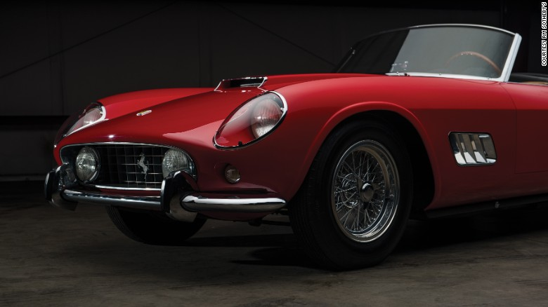 A 1959 Ferrari 250 GT is also for sale at the auction.