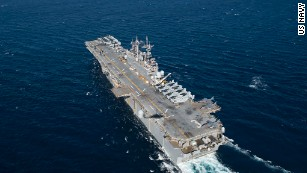 US military sends warships, aircraft to Texas