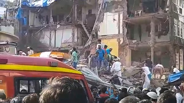 MUMBAI: Building collapses, Killing 7, others trapped