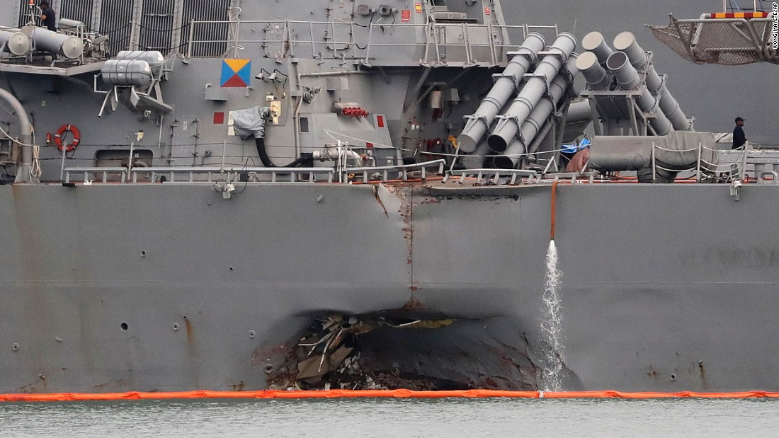 Exclusive: US Navy ships in deadly collisions had dismal training reco