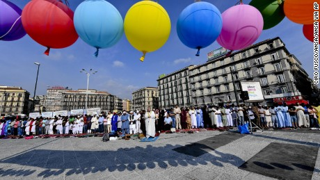 naples muslim Across the muslim world today, many are celebrating the festival of eid   muslims in naples, southern italy, recognize eid al-adha, one of the.