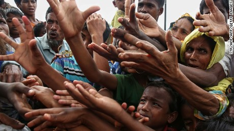 'There is genocide going on there': Rohingya huddle on Bangladesh border