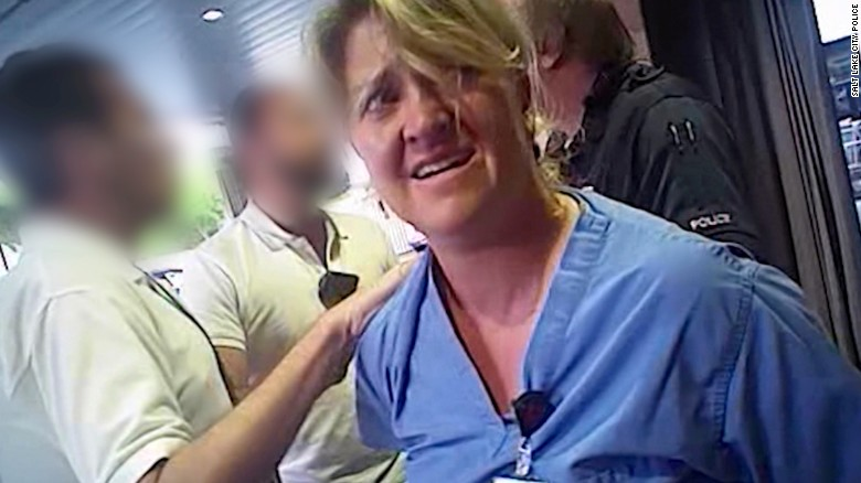 Police officer who arrested Utah nurse fired from medic job
