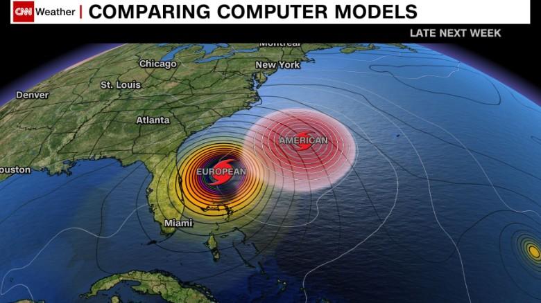 Ecmwf forecast model north america