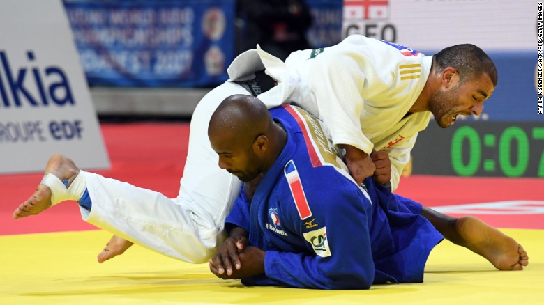 Guram Tushishvili came as close to beating Teddy Riner than any competitor in the past seven years.