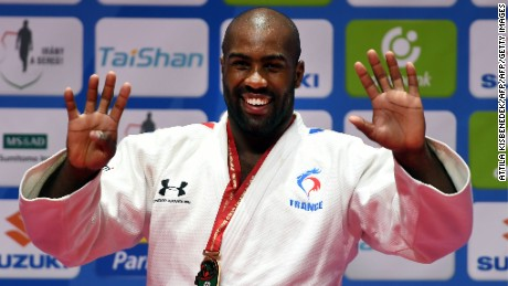 Teddy Riner has won the most Judo World Championship gold medals in history.
