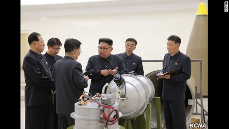 What happens when North Korea tests a nuclear weapon