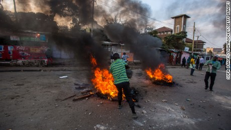 Protests broke out last month in Kenya after the reelection of President Uhuru Kenyatta, a result now invalidated by the country's Supreme Court.