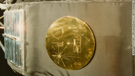 Voyager's Golden Record plays on