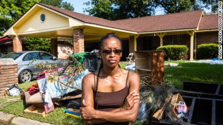 Felicia Darden has no flood insurance and no idea what the future holds.