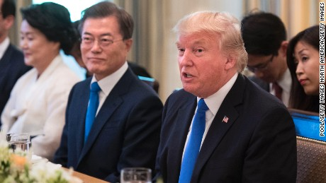Diplomat: Trump tweets scaring South Korea