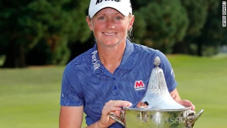 LPGA's Stacy Lewis wins for Houston