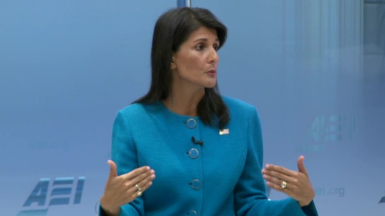 Trump has grounds to say Iran violating nuclear deal: Haley