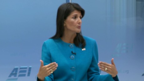 Haley on Iran deal: Can't put lipstick on a pig
