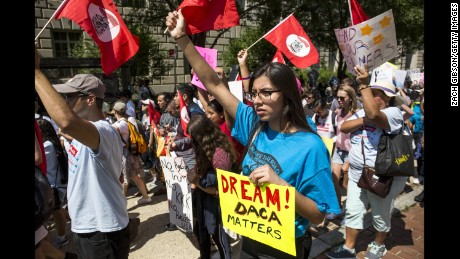Admin memo: DACA recipients should prepare for 'departure from the United States'