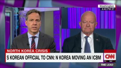 Lead Clapper North korea crisis Tapper _00000825