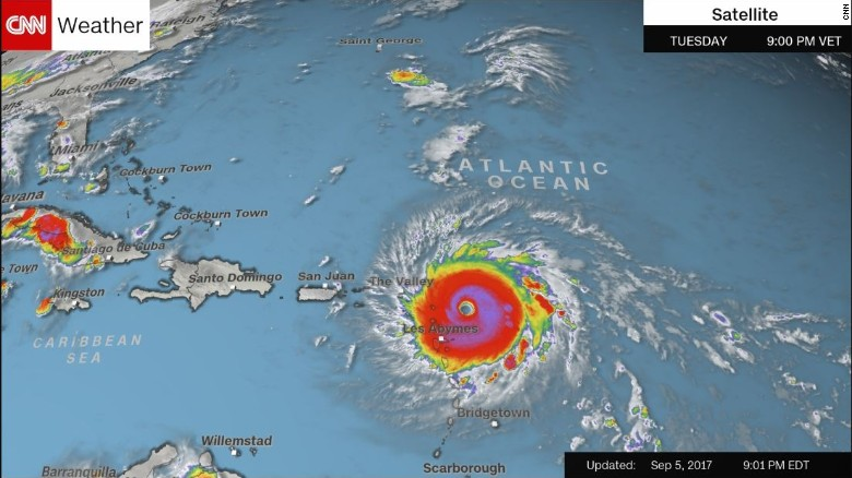 The Us Virgin Islands With About 100 000 People Declared A State Of Emergency Tuesday And Ordered The National Guard Into Active Service
