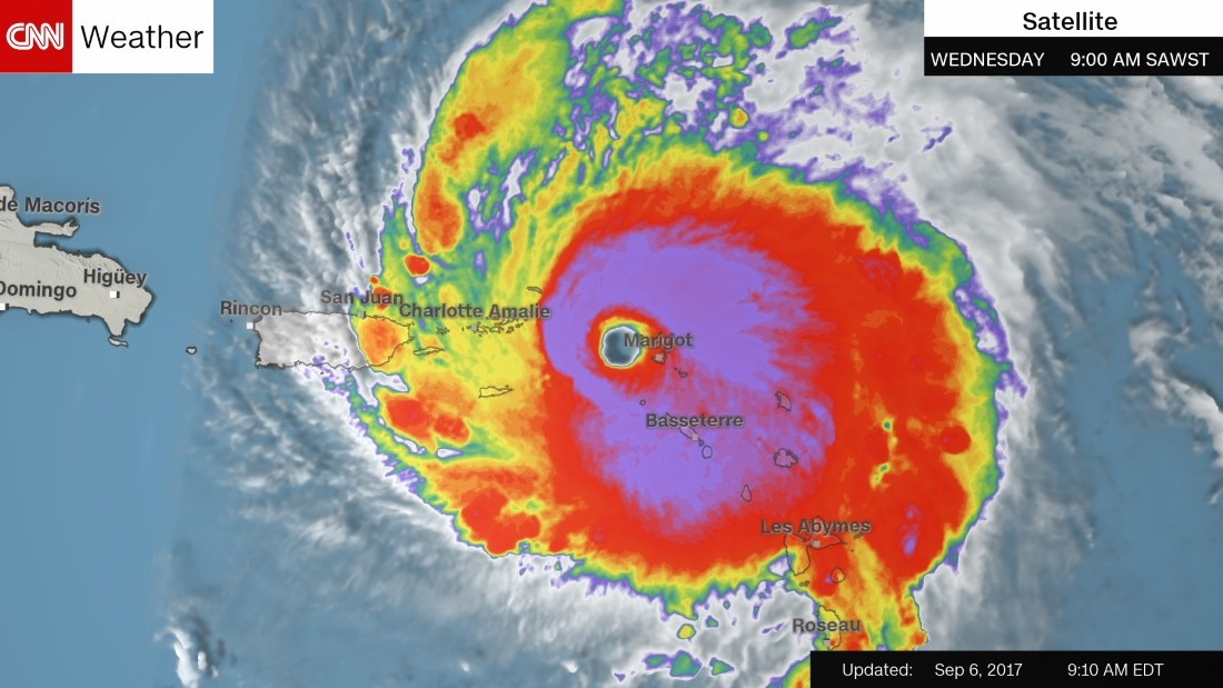 Hurricane Irma Slams Caribbean Islands As It Head Towards