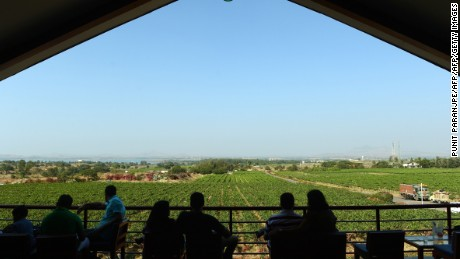 The Sula Vineyard in Nashik, around 103 miles from Mumbai.