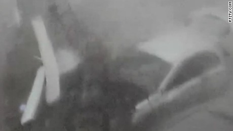 Video shows Irma ripping through island
