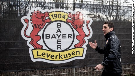 LEVERKUSEN, GERMANY - MARCH 06: Tayfun Korkut  the newly appointed head coach of Bayer Leverkusen leaves after the training on March 6, 2017 in Leverkusen, Germany. (Photo by Maja Hitij/Bongarts/Getty Images)